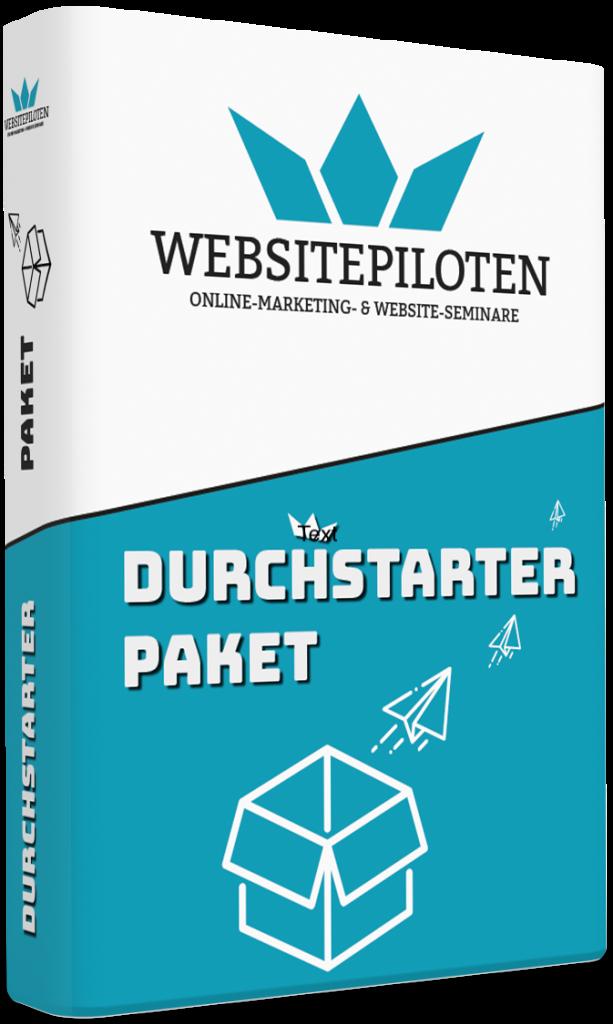 Websitepiloten Online Marketing Kurse cover durchstarter