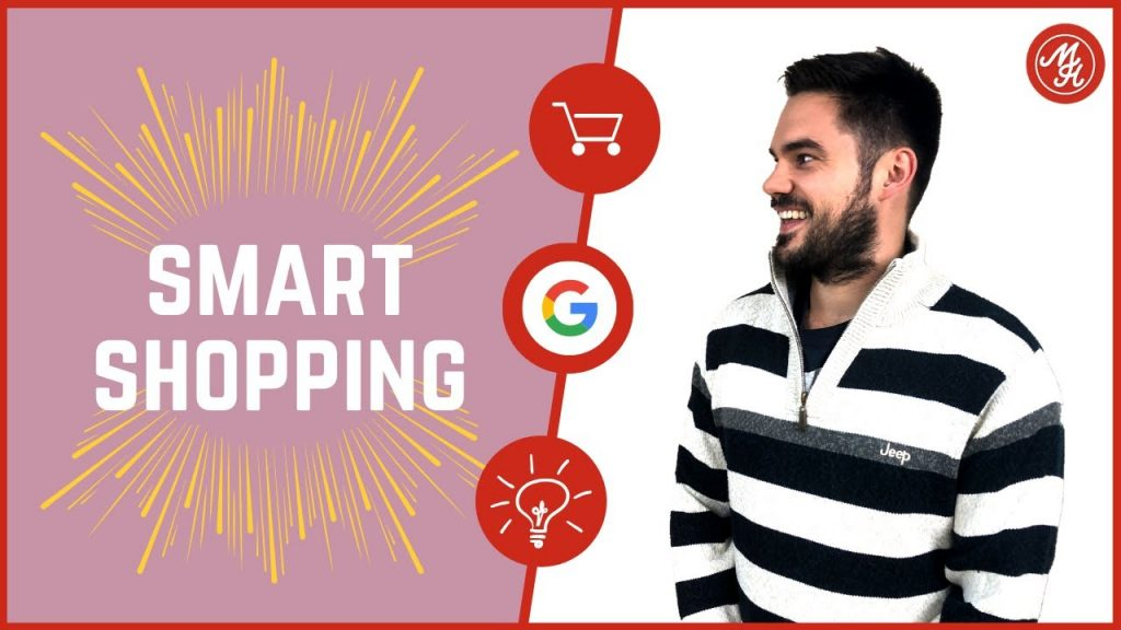 Smart Shopping vs. normale Standard manuelle google Shopping Kampagnen Thubnail mit Malte Helmhold