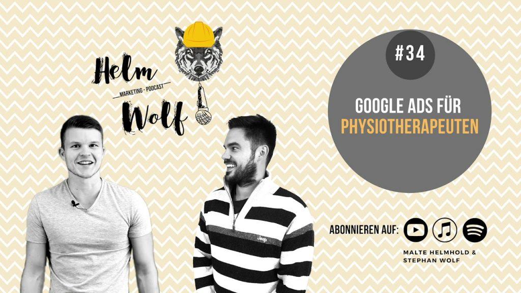 Google Ads für die Branche Physiotherapeuten Google Ads Podcast Folge