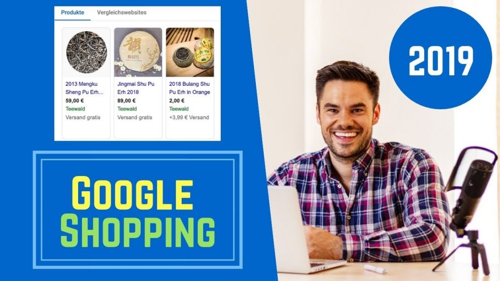 Google Shopping Tutorial auf Deutsch Thumbnail